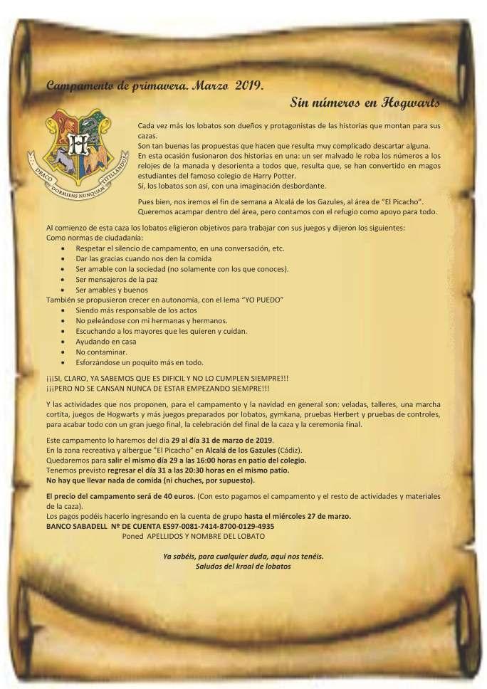 Campamento_en_Hogwarts.Marzo-2019.Carta